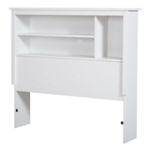 Brand New Bookcase Headboard, Twin, White by South Shore Furnitu