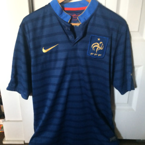Maillot Jersey Soccer Nike FFF France Home Authentic -M