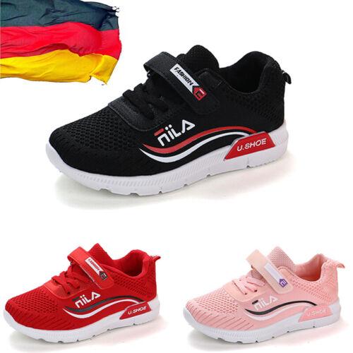 Kinderschuhe Jungen Mädchen Schuhe Sportschuhe Atmungsaktiv Sneakers Turnschuhe