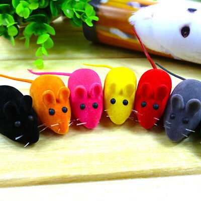 Current Squeak Noise Sound Mouse Toy Rat Cat Dog Pets Playing Gift New Style
