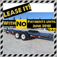 "Don't Pay Until June 2018 OAC !! New ""Rainbow"" Utility Trailers Red Deer Alberta Preview"