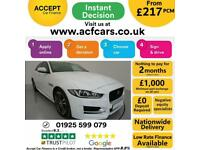 2016 WHITE JAGUAR XE 2.0 D 180 R SPORT DIESEL SALOON CAR FINANCE FR £217 PCM