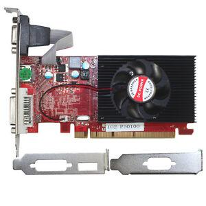 AMD Radeon HD 7450 2048MB GDDR3 PCI-E Video Graphics Card DVI & HDMI Low Profile