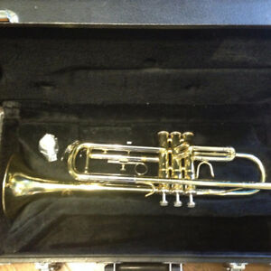 Trumpet  - Includes case, cleaning kit & music stand
