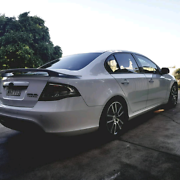 2009 Ford Falcon FG XR6TURBO xr6t Aberglasslyn Maitland Area Preview