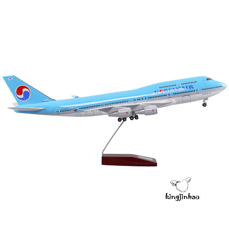 Scale 1:150 Korean Airliners B747-400 Aircraft Assemblies