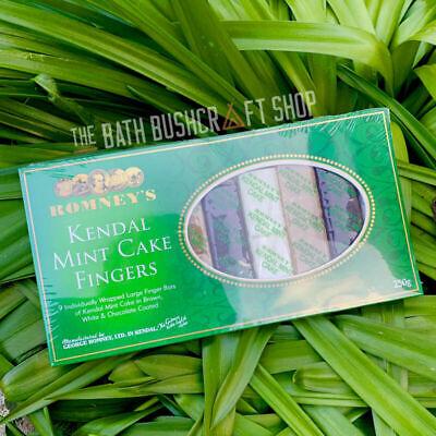 ROMNEY'S KENDAL MINT CAKE FINGERS HIGH ENERGY RATION PACKS SURVIVAL BUSHCRAFT