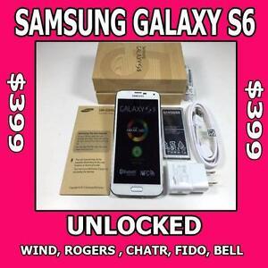Samsung Galaxy S6 for $399.99..best price on Kijiji..CERTIFIED PRE-OWNED.. 90 days Warranty!!
