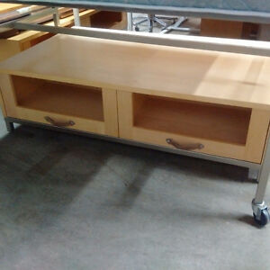 Big Low Display Table with Drawers