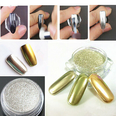 Shinning Gliter Mirror Powder Manicure Nail Art Sequins Chrome Pigment Glitters