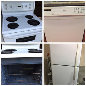 PRICE REDUCED!! Appliance package for sale