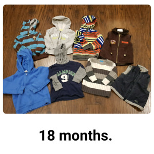 18 months sweater lot $10