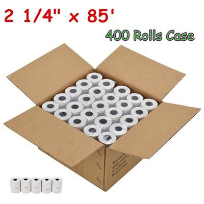400 Rolls Case 2 14 X 85 Thermal Cash Register Credit Card Pos Receipt Paper