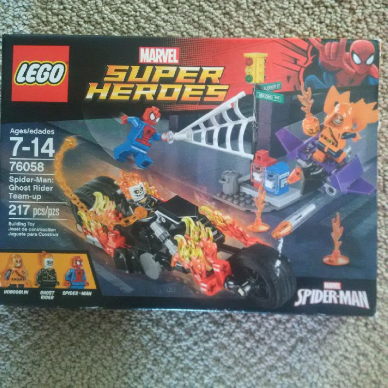 LEGO Super Heroes: Spider-man and Ghost Team Up | Toys & Games ...