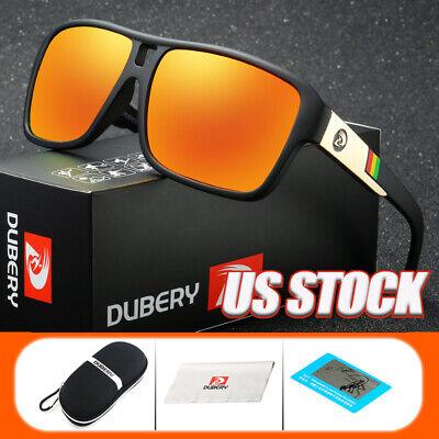 DUBERY Men Brand Designer Sunglasses Polarized Cycling Sport Driving Sun (Polarized Brand)