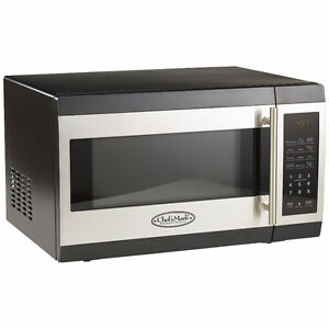 Chef's Mark 1.3 cu. ft. 1000-Watt Microwave Oven, New