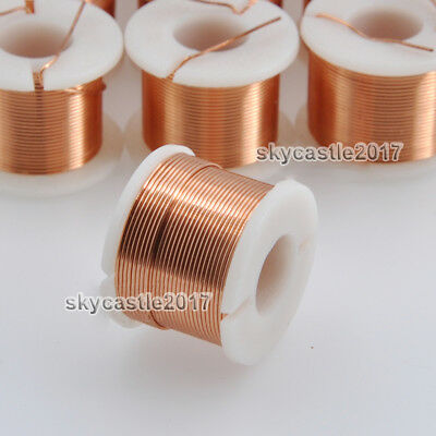 1pcs 0.5mm 0.5mh Speaker Divider Crossover Inductor Oxygen-free Copper Wire Coil
