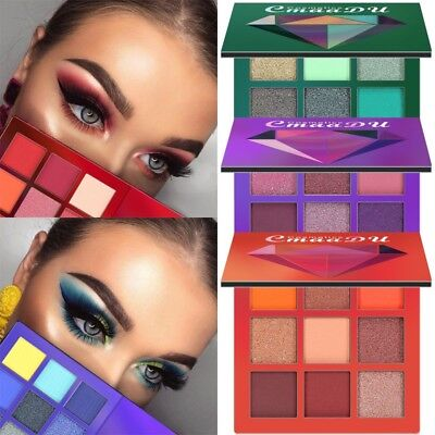 2019 Eyeshadow Palette Beauty Makeup Shimmer Matte Gift Eye Shadow Cosmetic (Best Eyeshadow Palette 2019)