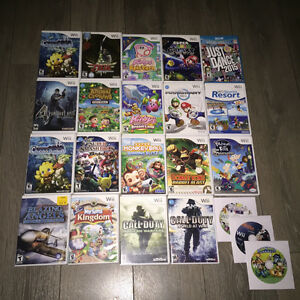 Wii / Wii U games for sale