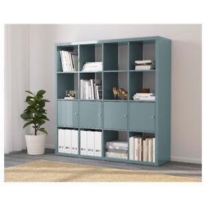 IKEA Kallax Étagère gris turquoise Shelving unit