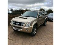 08 Isuzu Rodeo Denver 2.5TD 4WD double cab, 11 service stamps! Air con, alloys,