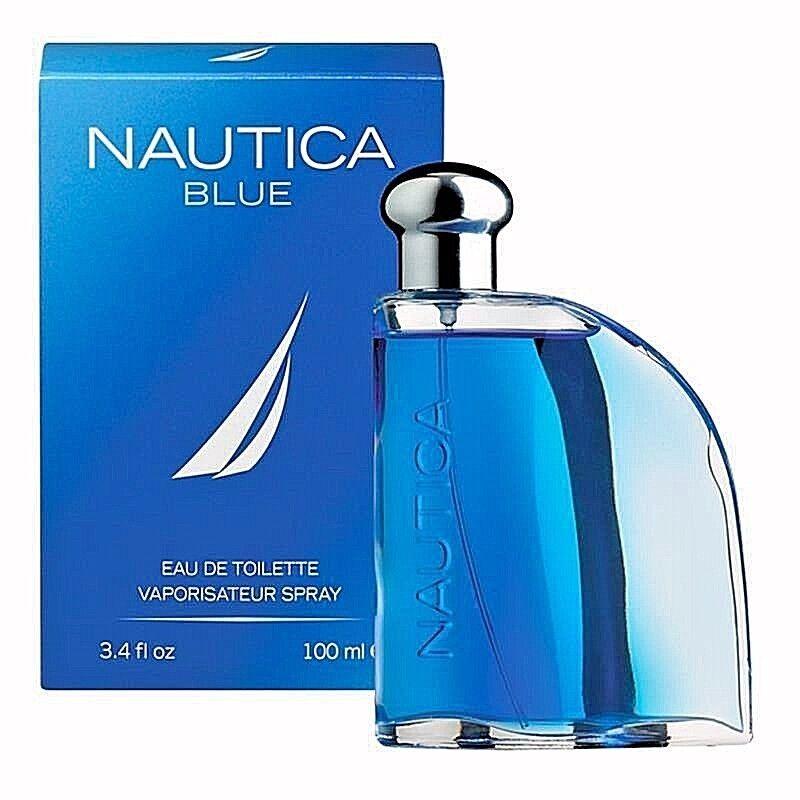 NAUTICA BLUE Perfume for Men * 3.4 oz 100 ml Eau de Toilette * Cologne NEW