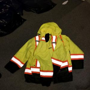 Winter 4in1 safety jacket. 4xl