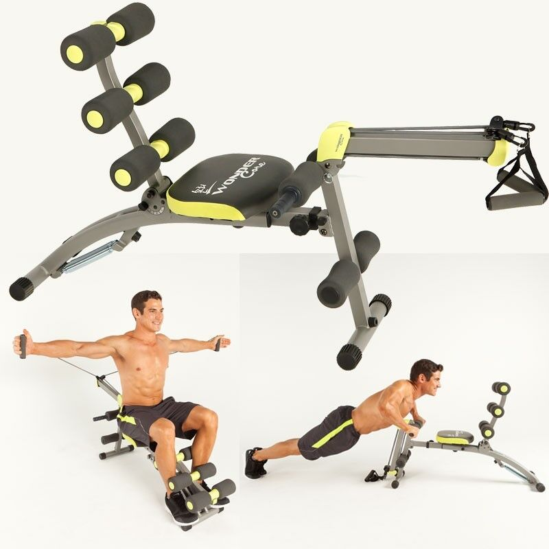 Wonder Core 2 Multigym For Biceps Triceps Abs In