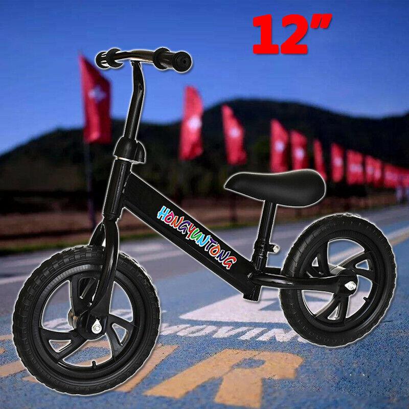 Children Balance Bike 2-6 Years Kids Boys Girls Learn Runnin