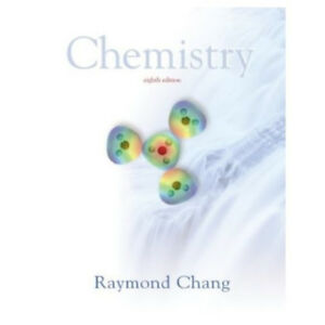 Raymond Chang Chemistry Textbook 8th edition NEW