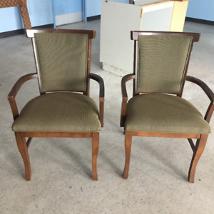 Solid Wood Arm Chairs