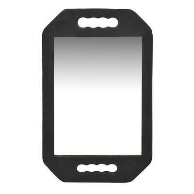 VAIN Regtangle Foam Barber Mirror, Lightweight Double Handle Salon Mirror