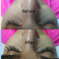 Eyelash extensions by Beautiful Blinks