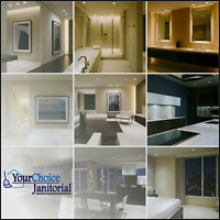 Best Cleaning in the GTA Area - YourChoice Janitorial Services