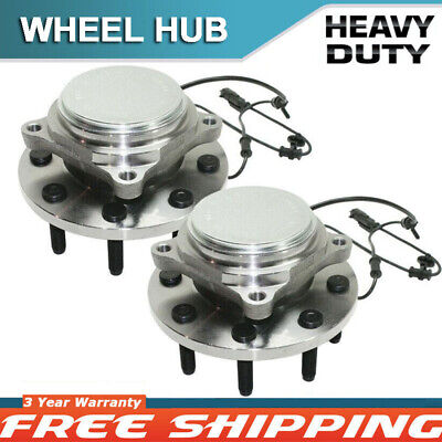 1 Pair Front Wheel Bearing and Hub Assembly for 2011 Ram2500 3500 RWD 515123