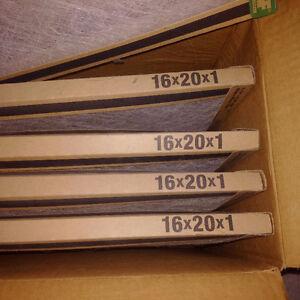 6 Furnace Filters - 16 x 20 x 1