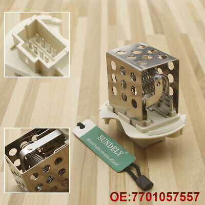 For Renault Master Interstar Heater/Blower Motor Fan Resistor 7701057557