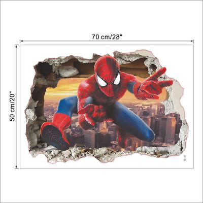 os Wanddeko Wandaufkleber Aufkleber Wand Sticker (Spiderman Aufkleber)