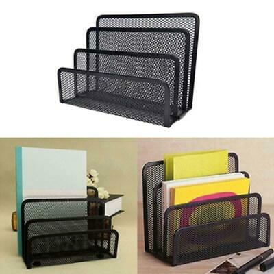 File Organizer Office Desk Rack Letter Storage Folder Document Holder Non-slip