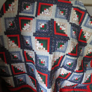 Hand-quilted Patchwork Quilt