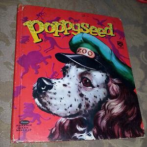 1954 POPPYSEED WHITMAN CHILDREN'S BOOK