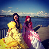 Belle ( Beauty and the Beast) Princess birthday Parties!