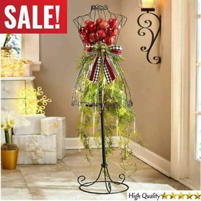 Vintage Dress Form Metal Mannequin Torso Boutique Store Decorative Display Stand