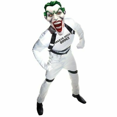 BATMAN JOKER DC COMICS ARKHAM ASYLUM STRAIGHT JACKET HALLOWEEN ADULT COSTUME - Arkham Batman Costume