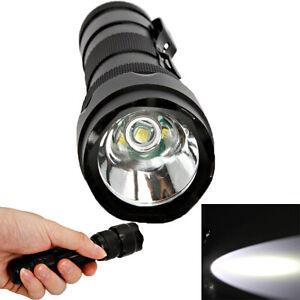 UltraFire WF502B Cree Xm-l T6 LED 2000lm 5 Mode Waterproof Torch Flashlight