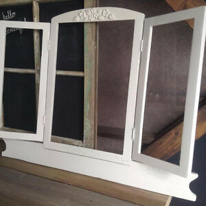 Antique solid wood frame