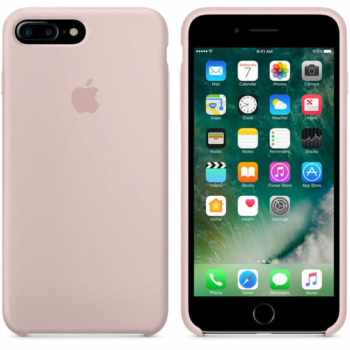 Original Silicone Back Case Cover For Apple iPhone X 8 Plus 7 6 6s 5 5S SE