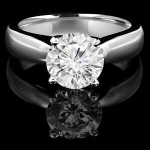 BAGUE EN OR 14K À DIAMANT SOLITAIRE .90 CARAT / SOLITAIRE DIAMOND ENGAGEMENT RING .90 CARAT