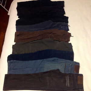 9 pairs of boys pants / jeans = $35 for lot