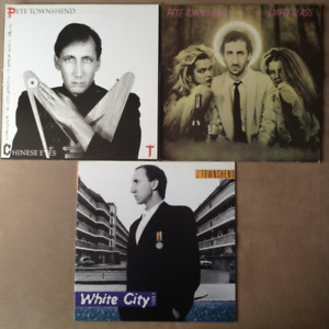 Pete Townshend - 3 Vinyl Records (LPs) The Who